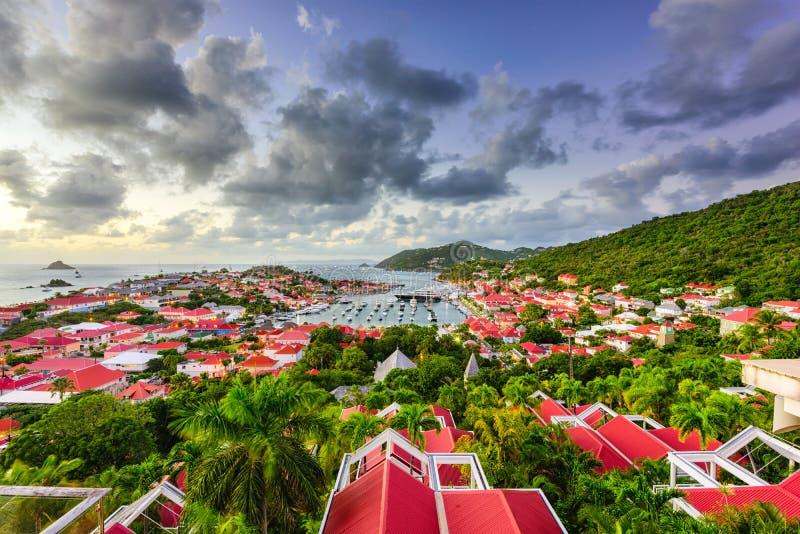 ` S de St Bart dans les Caraïbe photographie stock libre de droits