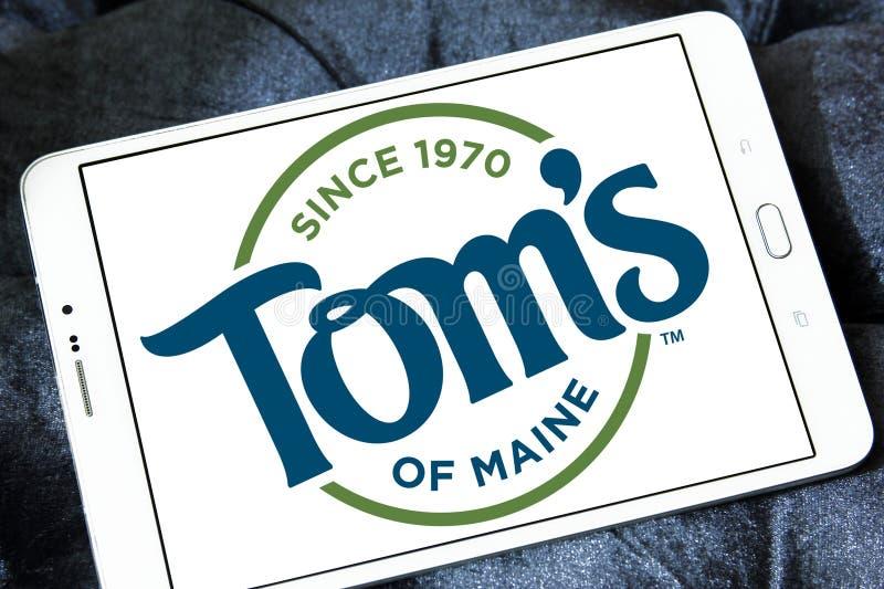 ` S de Tom do logotipo de Maine imagem de stock royalty free