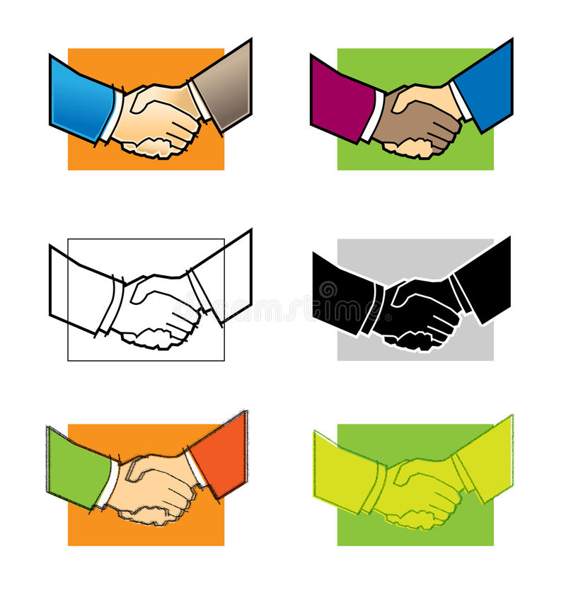 Download It's a Deal stock vector. Image of firm, contract, businesspeople - 18167589