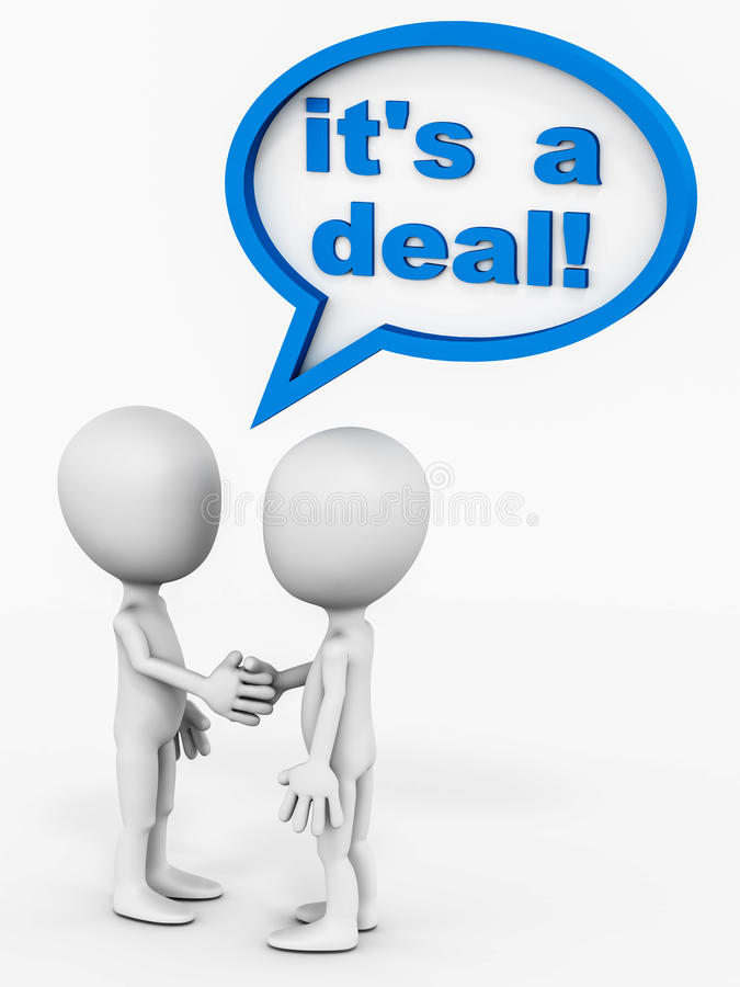 Download It's A Deal Stock Photos - Image: 28071983