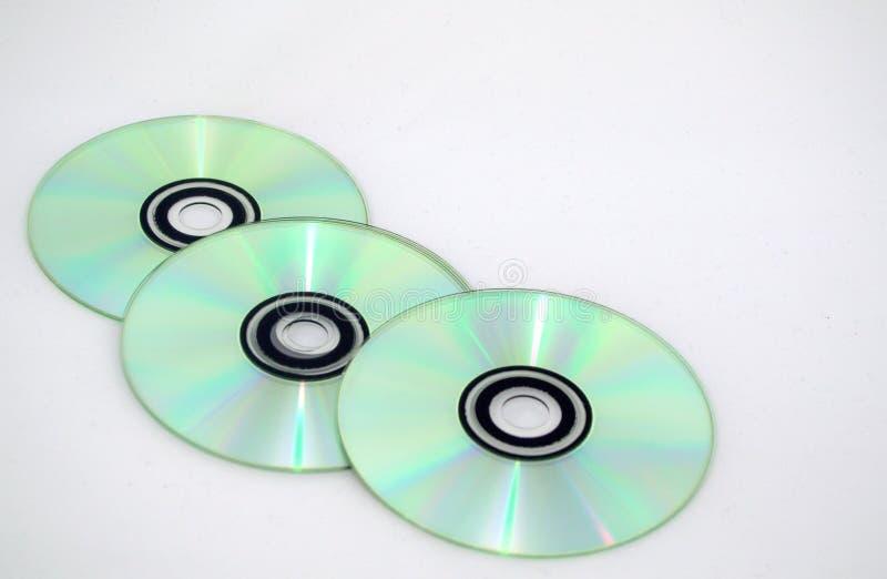 ` S del CD fotografia stock