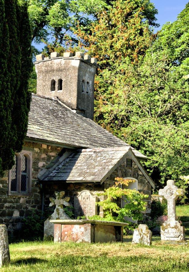 ` S di St John nella chiesa di Vale immagini stock