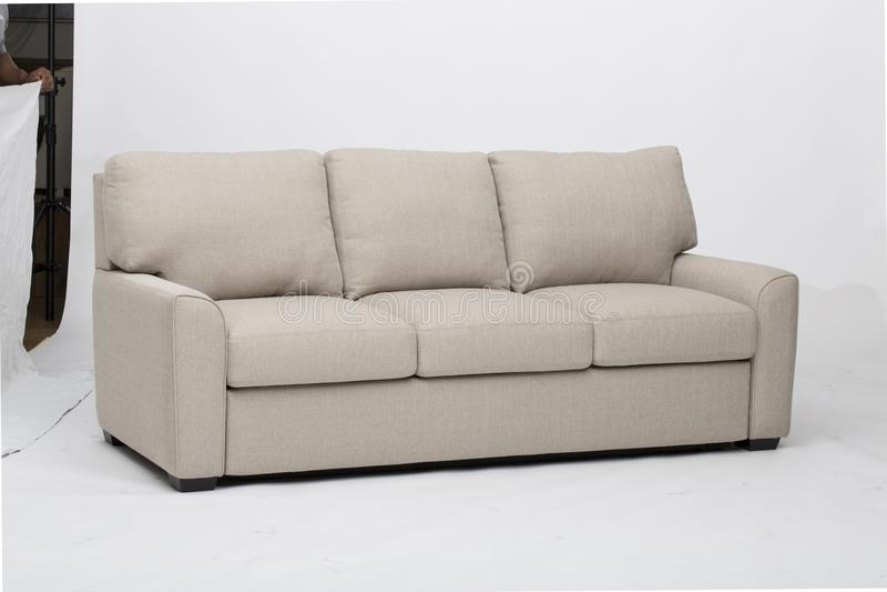 S?dliche M?bel Bradley Sofa, nat?rliche Gr??e des Stuhls, erstaunliche Schnittcouches mit Recliners-Sofa Recliner And Chaise Loun stockbild