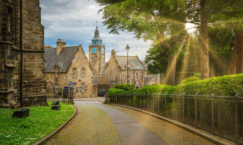 ` S do rei e de ` s da rainha nó em Stirling, Escócia foto de stock royalty free