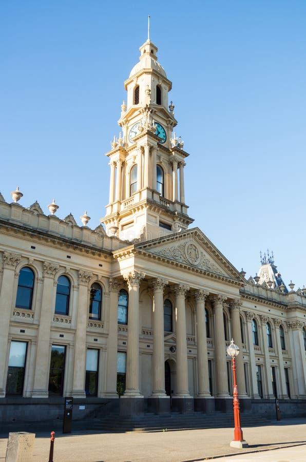 S?dra Melbourne stadshus i staden av port Phillip i Melbourne, Australien royaltyfria bilder