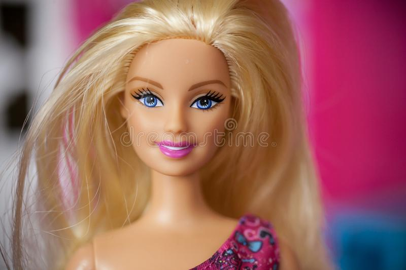 2000s era Barbie Doll stock afbeelding