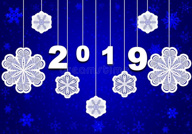 ` S Eve 2019 del Año Nuevo fotos de archivo