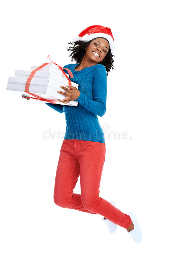 She's excited about what christmas specials you will put in the stock photography