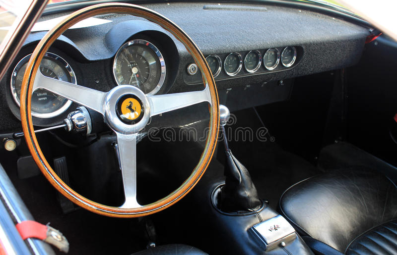 1950s ferrari interior gauges editorial photo image 31654811. Black Bedroom Furniture Sets. Home Design Ideas