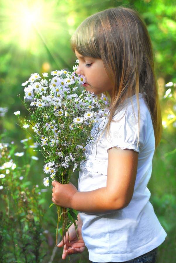 S, fiori elling fotografia stock