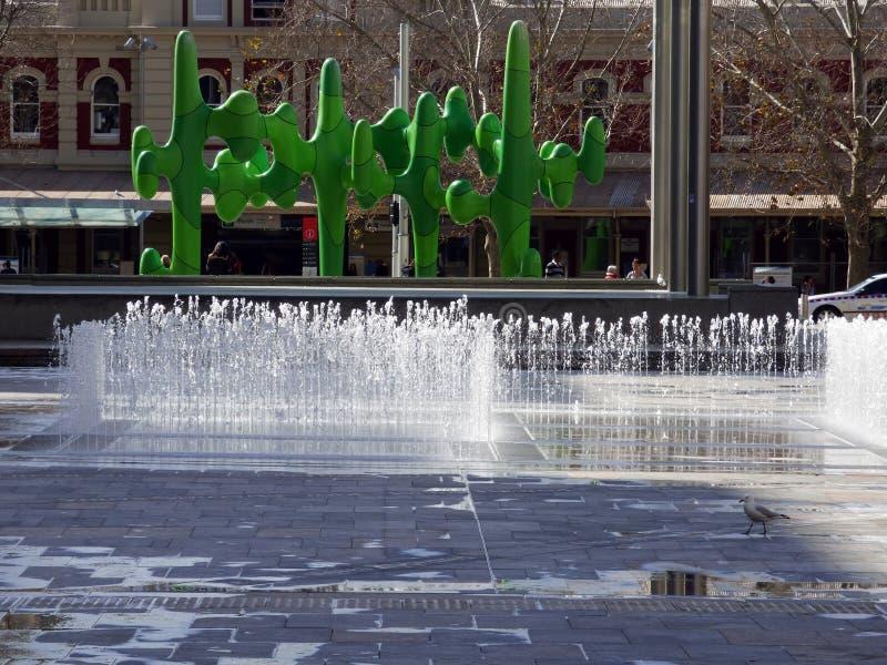 ` S Forrest Place, 2014 dell'Australia, Perth fotografia stock libera da diritti