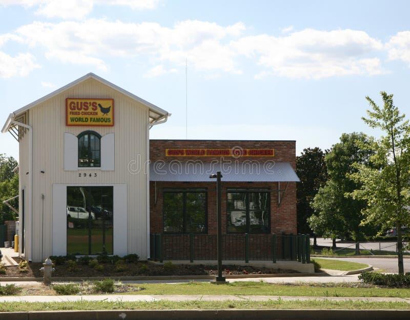 ` S Fried Chicken New Store mundialmente famoso do GUS fotografia de stock
