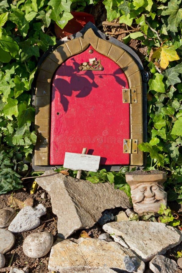` S Front Door de Chambre du ` s de Gnome photos stock