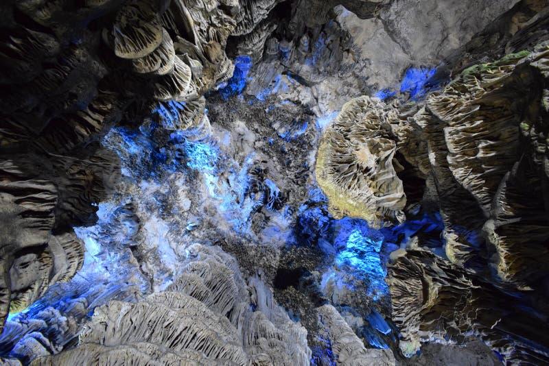 ` S Gibraltars St Michael Höhle lizenzfreies stockbild