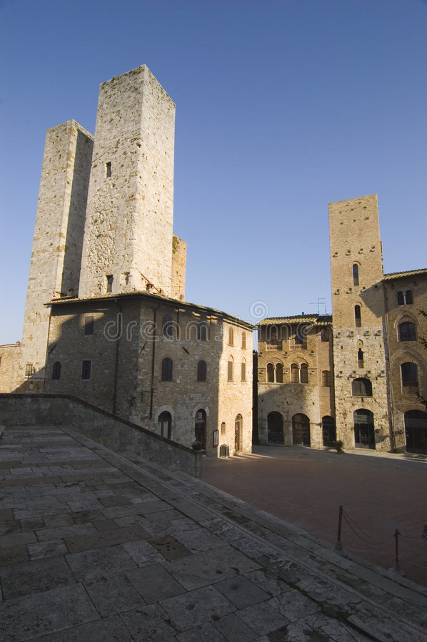 S.Gimignano, Italia, Italia fotografia stock