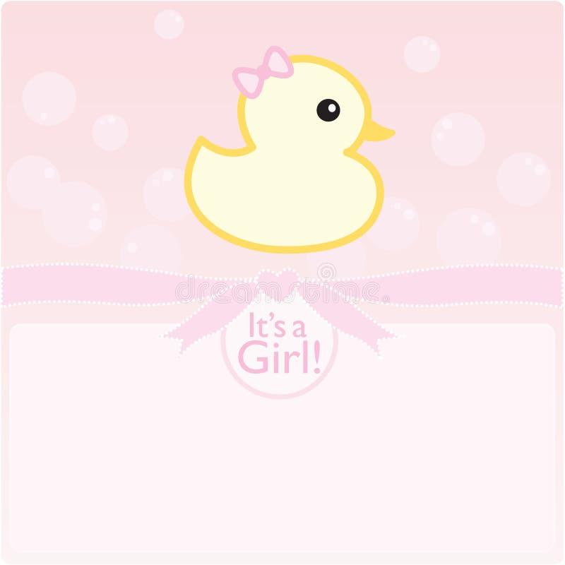 It's a girl! royalty free stock photos