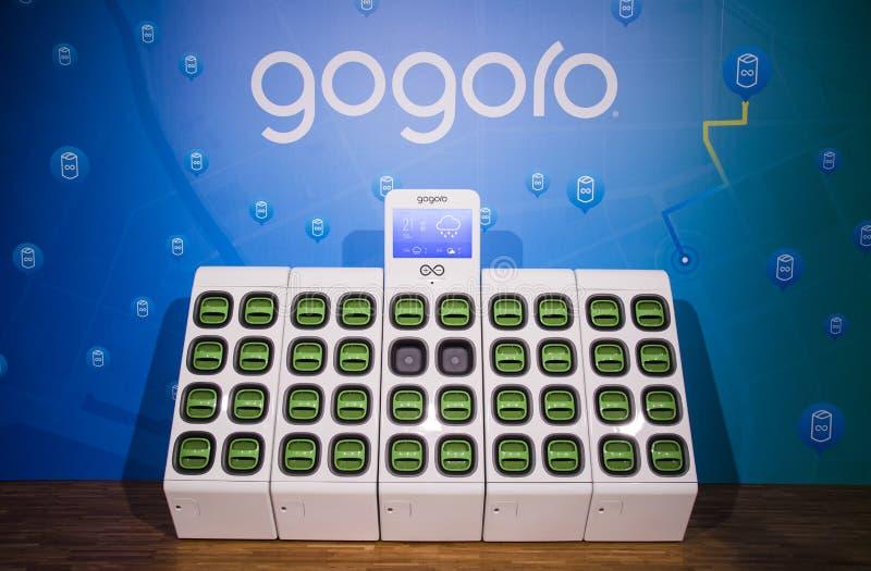 ` S GoStation de Gogoro fotos de stock royalty free