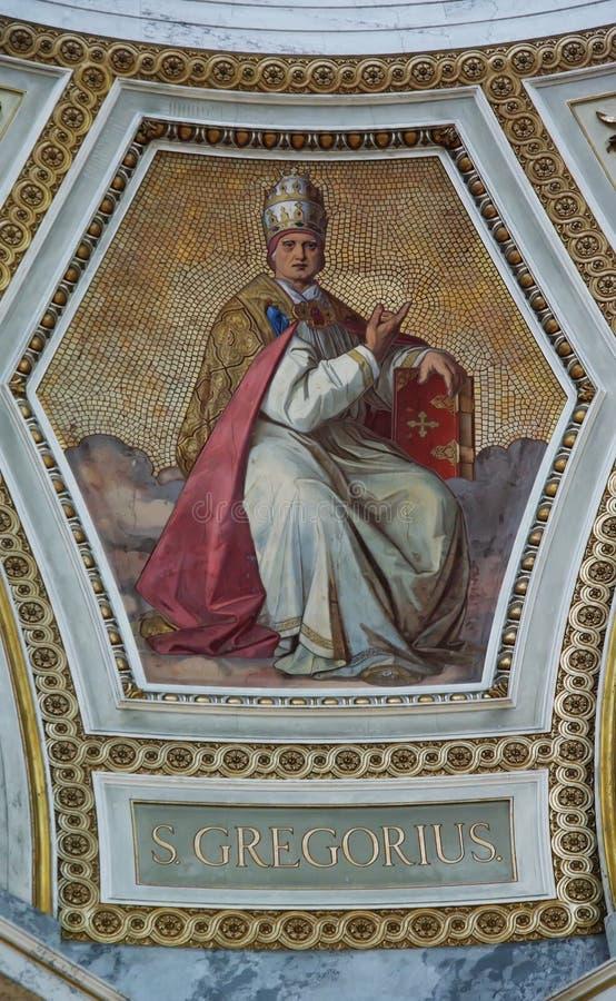 S. Gregorius fotografía de archivo libre de regalías
