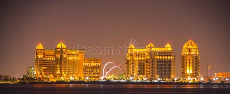 S Hotel T Regis in Doha Katar stockbilder