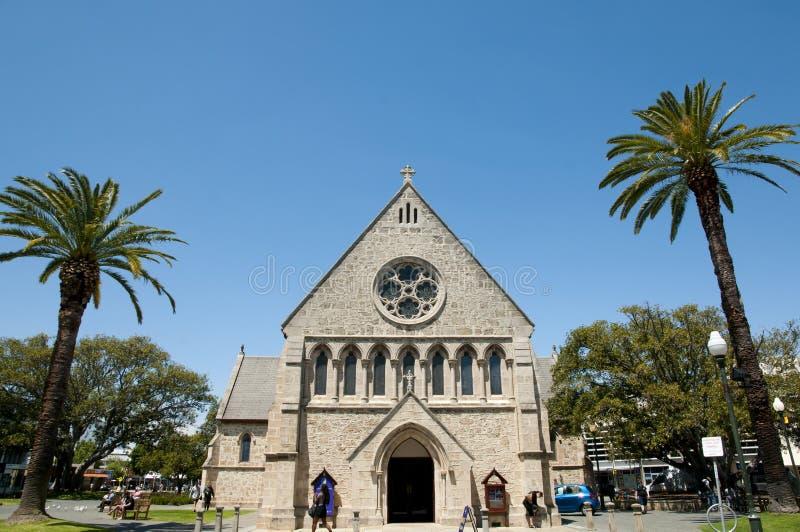 ` S Johannes anglikanische Kirche - Fremantle - Australien stockfoto