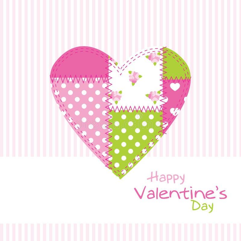 s karciany valentine ilustracji