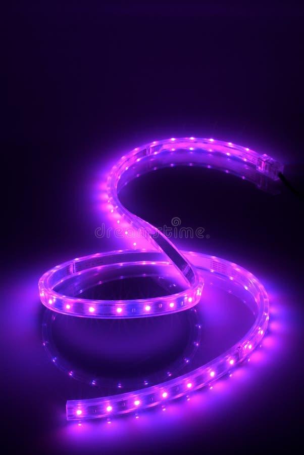 s kształt światła zdjęcie royalty free