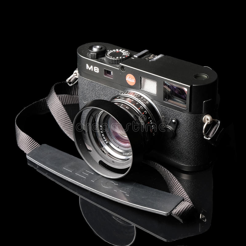 It`s a Leica royalty free stock images