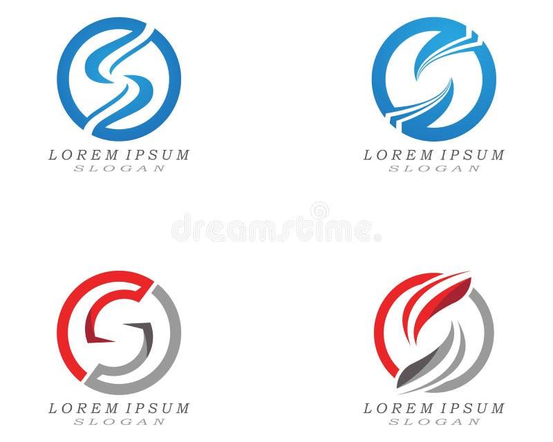 S letter logo and symbol design vectors. S letter logo and symbol design vectors abc alphabet art brand branding business company creative decoration element royalty free illustration