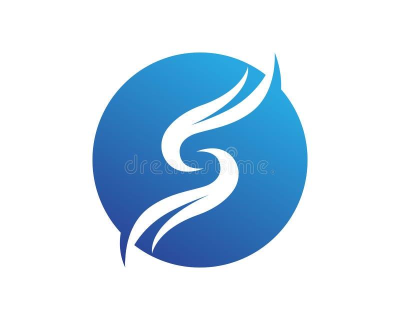 S loga projekta Biznesowy korporacyjny listowy wektor ilustracja wektor