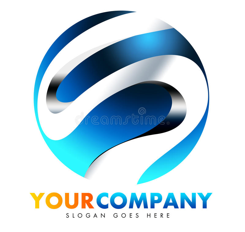 S Logo royalty free illustration