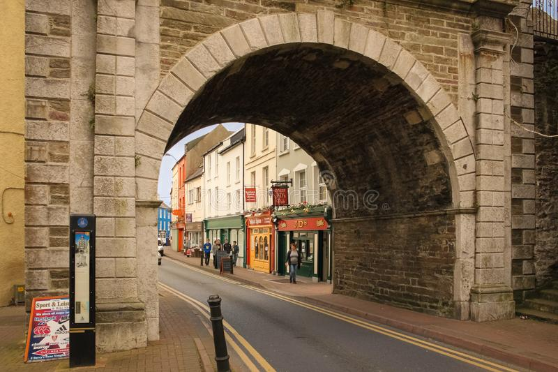 S Main Street Youghal l'irlande image stock