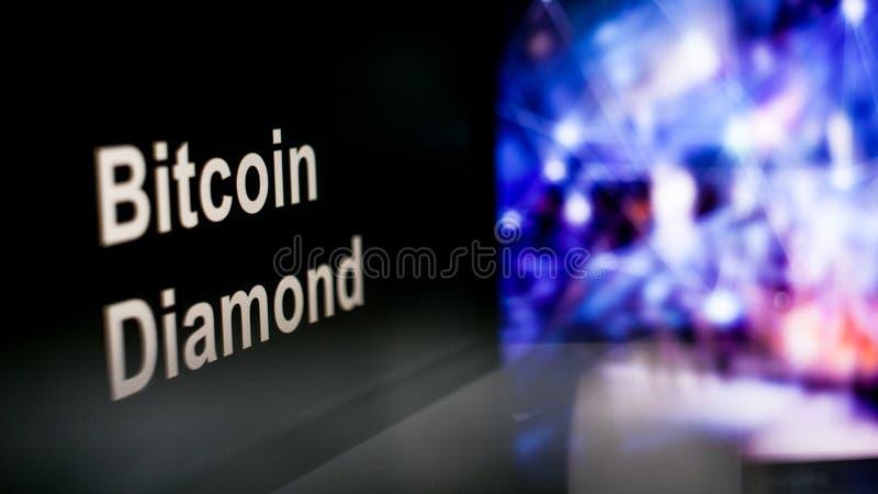 S?mbolo de Cryptocurrency comportamiento de los intercambios del cryptocurrency, concepto Tecnolog?as financieras modernas fotografía de archivo