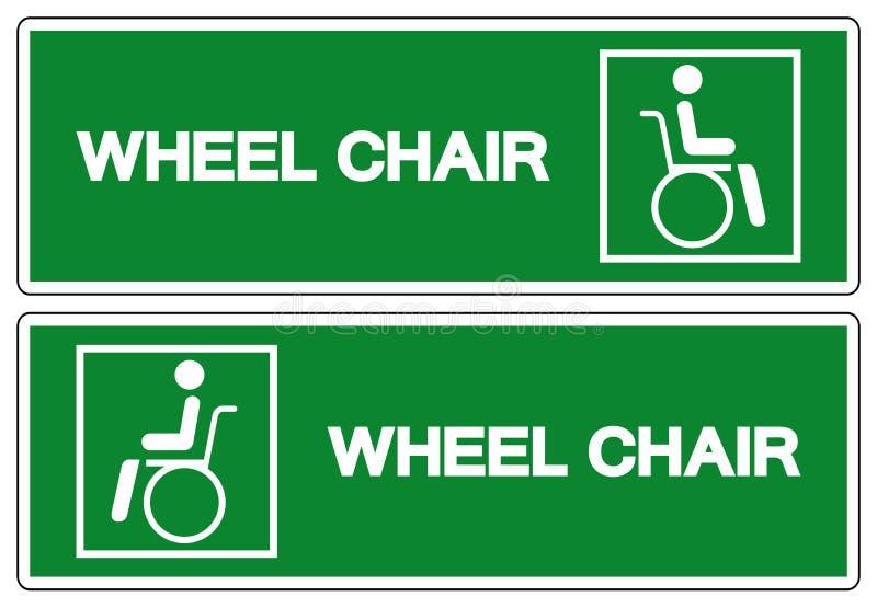 S?mbolo do hospital da cadeira de roda, ilustra??o do vetor, isolado no ?cone branco do fundo EPS10 ilustração do vetor
