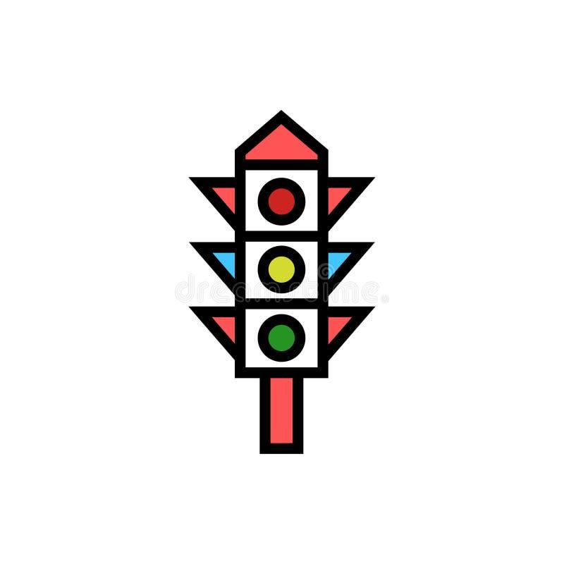 S?mbolo do sinal do vetor do ?cone do sinal ilustração royalty free