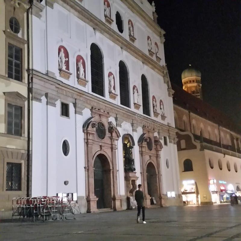 Munique Center Bavaria stock image