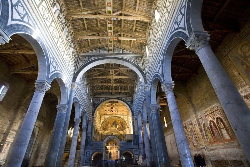 S. Miniato in Florence royalty free stock photos