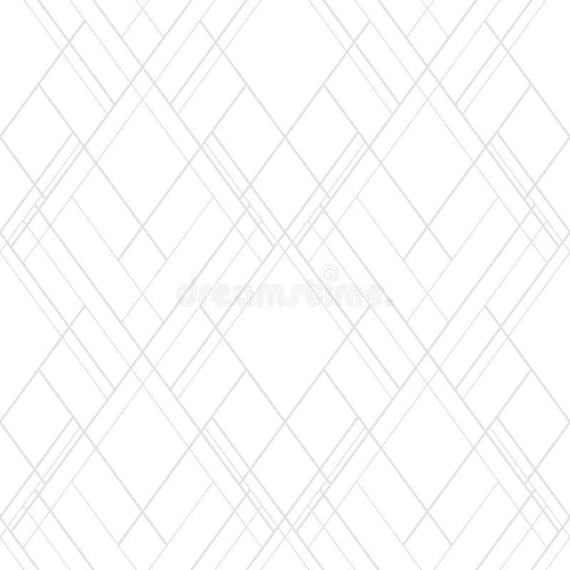 S?ml?s luckavektormodell Abstrakt monokrom bakgrund med arga linjer stock illustrationer