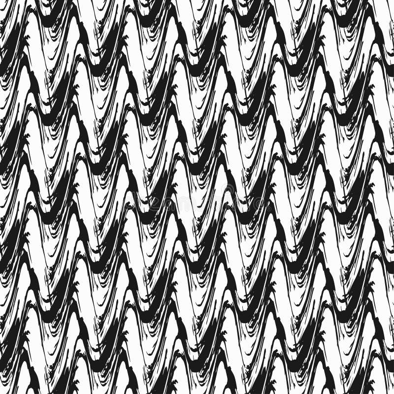 S?ml?s modell f?r abstrakt monokrom tappning p? en svart bakgrund vektor illustrationer