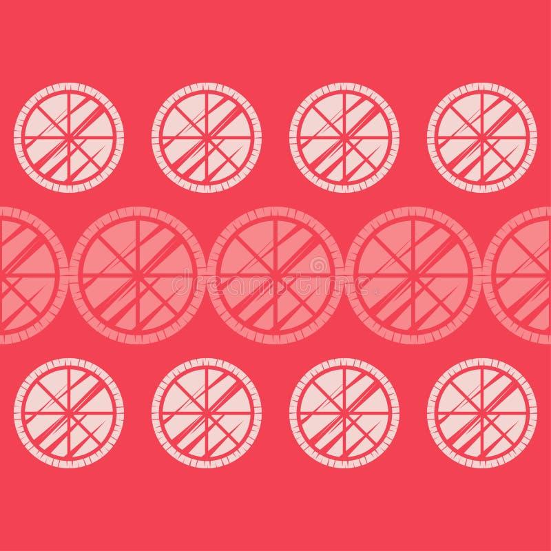 S?ml?s modell f?r prick Mosaik av etniska diagram _ gammal textur geometrisk bakgrund stock illustrationer