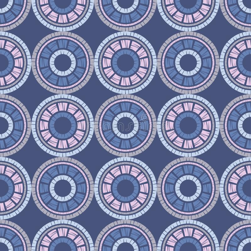 S?ml?s modell f?r prick Mosaik av etniska diagram geometrisk bakgrund vektor illustrationer