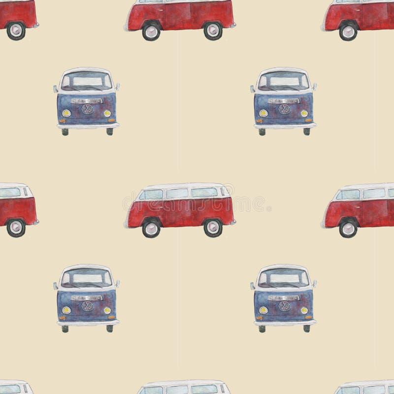 S?ml?s modell med retro bilar arkivbild