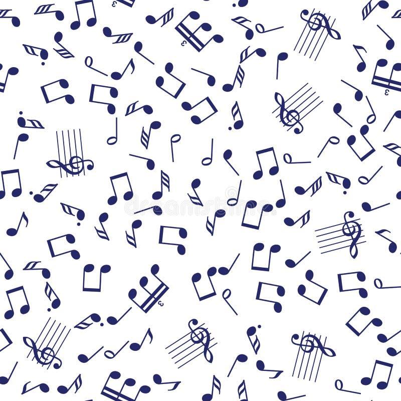 S?ml?s musikanm?rkningsmodell royaltyfri illustrationer