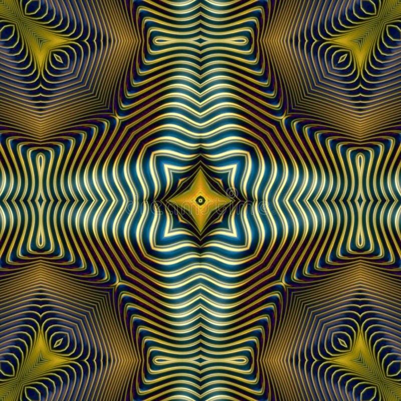 S?ml?s rastermodell i modellen f?r mosaik f?r orientalisk stilblomma den psykedeliska f?r tapeten, bakgrunder, dekor f?r gobel?ng vektor illustrationer