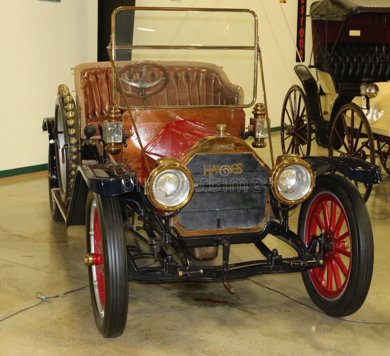 1800's modela Haynes powozika stylu Antykwarski samochód obrazy royalty free