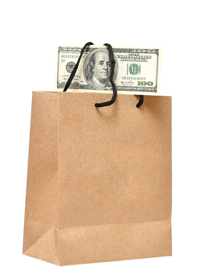 Download It's Money In The Bag Royalty Free Stock Photos - Image: 20995198
