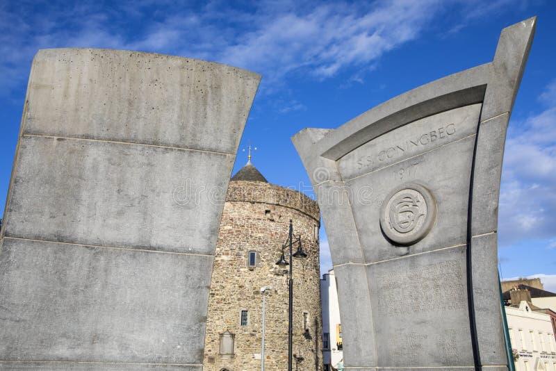 S S Monumento de Coningbeg en Waterford imágenes de archivo libres de regalías