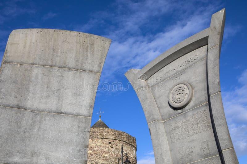 S S Monumento de Coningbeg en Waterford foto de archivo