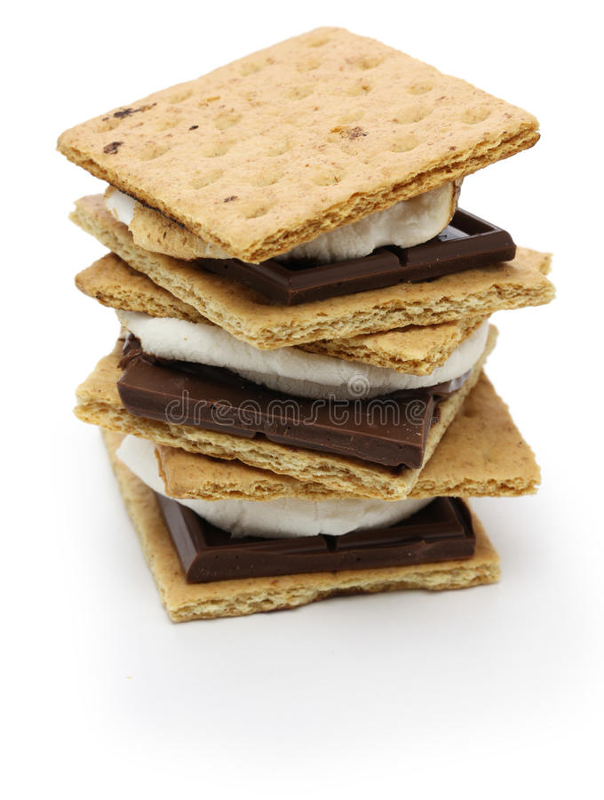 Free S'more, Campfire Treat Stock Image - 36762271