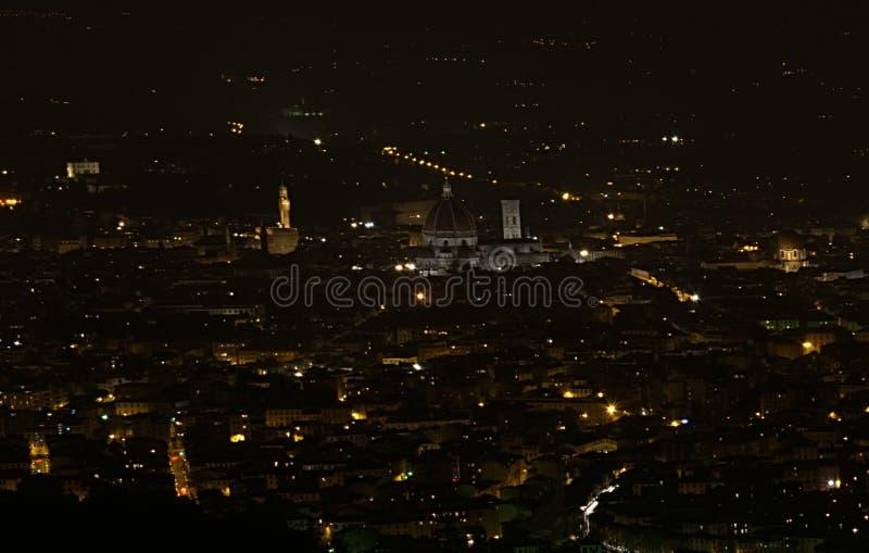's nachts Florence royalty-vrije stock foto