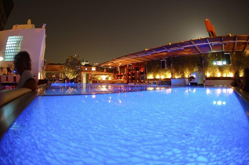 's nachts Istanboel royalty-vrije stock foto